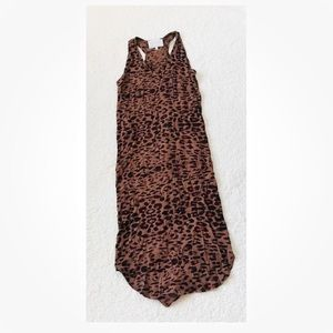 West and main sleeveless animal print Sheath Dress